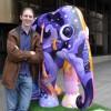 Elephant spotting in the London Elephant Parade 2010