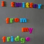 i twitter from my fridge