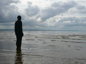 "Anthony Gormley's ""Another Place"", Crosby Beach"
