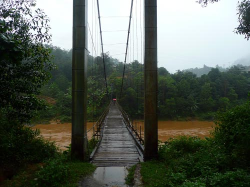 The bridge to the minority village